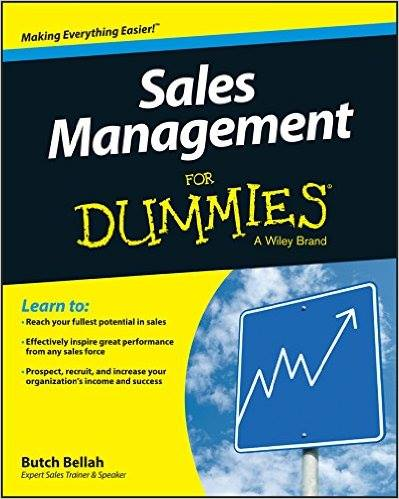 Sales Management For Dummies!